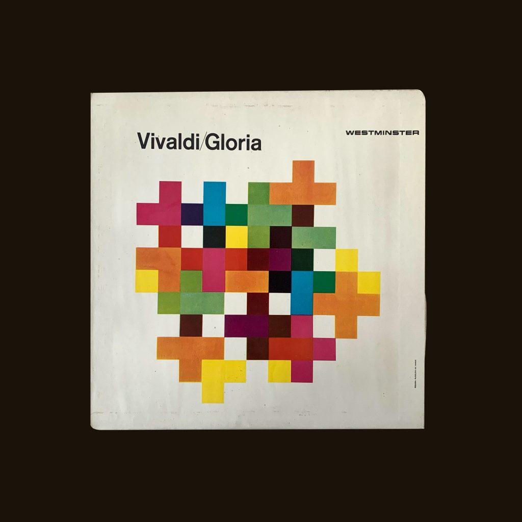 Vivaldi/Gloria Westminster records Design by Rudolph de Harak