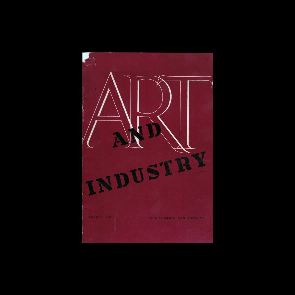 Art and Industry magazine August 1948