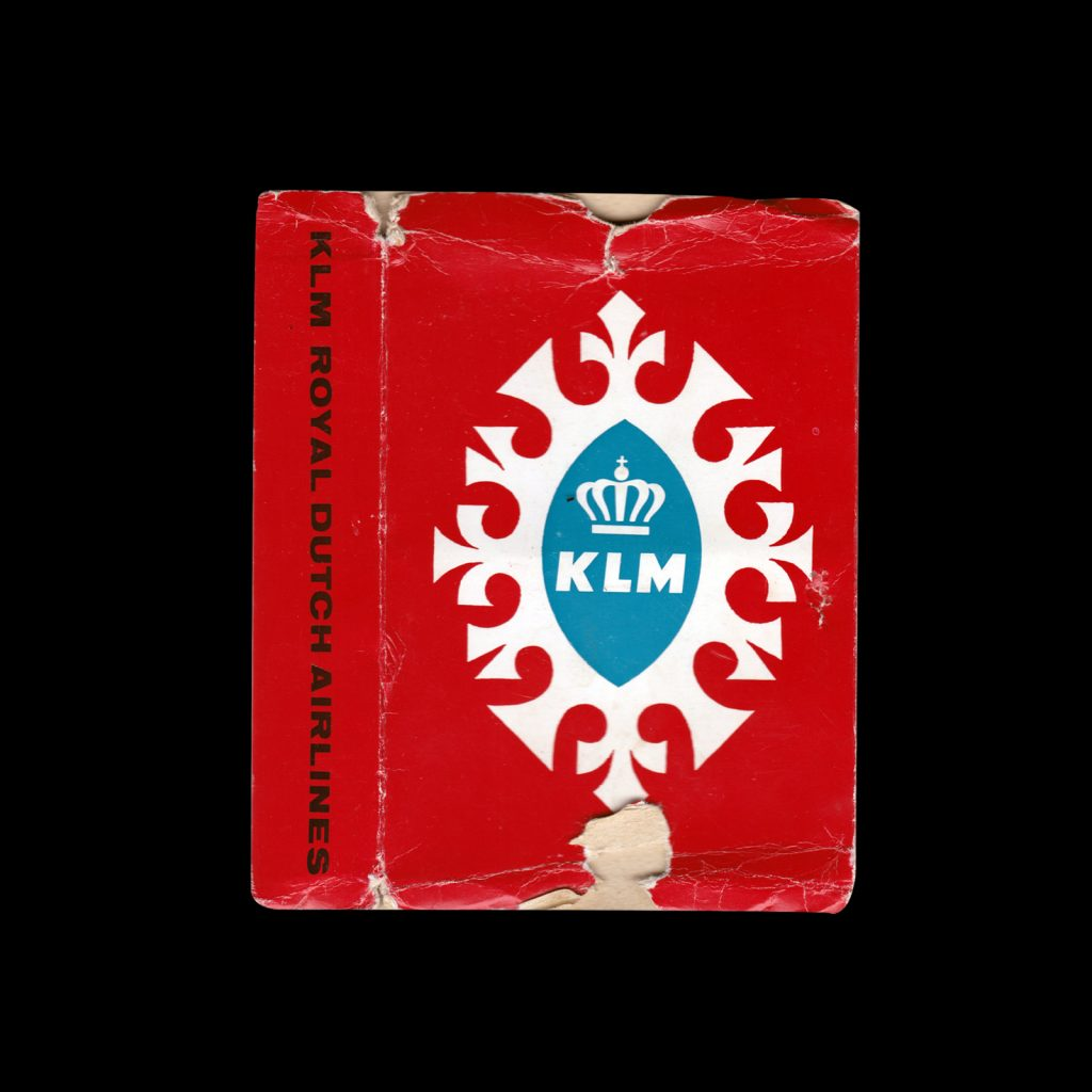 KLM Royal Dutch Airlines Playing Cards designed by Max Velthuijs