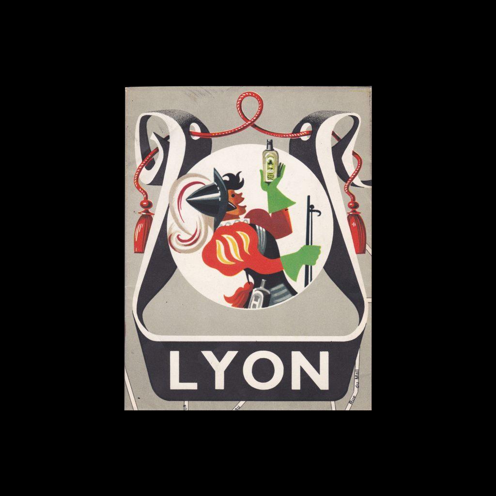 Lyon City Guide 1957