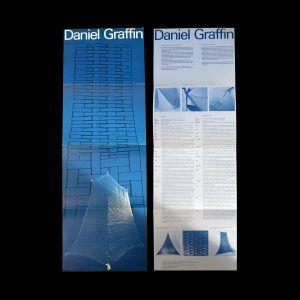 Daniel Graffin, Stedelijk Museum, Amsterdam, 1977 designed by Wim Crouwel and André Toet (Total Design)