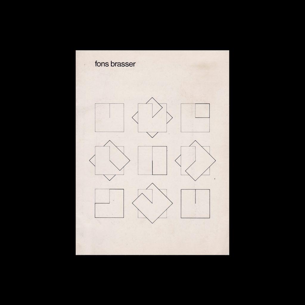 Fons Brasser, Stedelijk Museum, Amsterdam, 1980