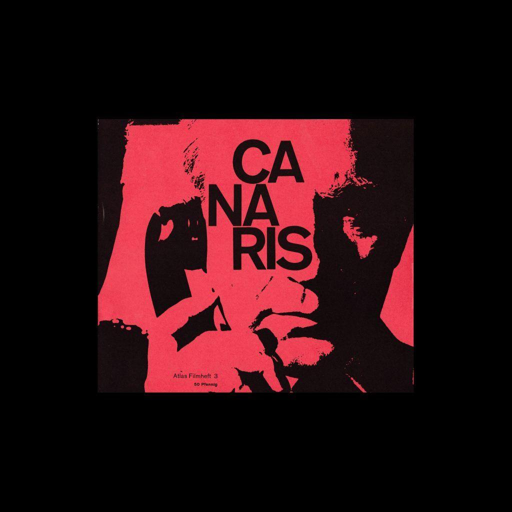 Atlas Filmheft 03 - Canaris designed by Fischer-Nosbisch