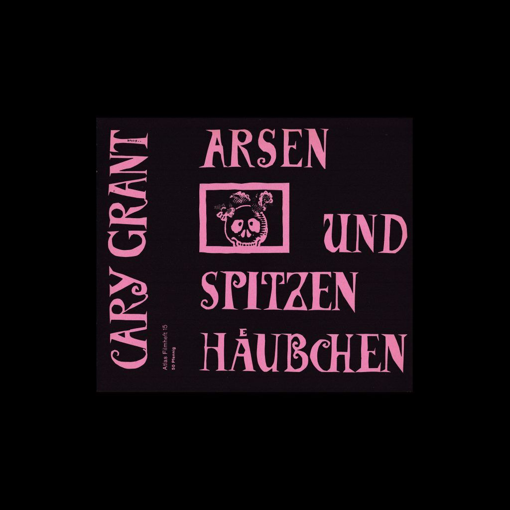 Atlas Filmheft 15 - Arsen und Spitzenhäubchen designed by Fischer-Nosbisch