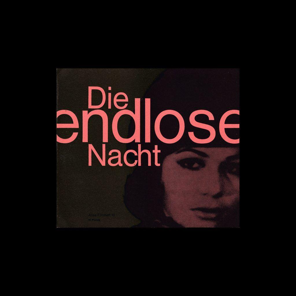 Atlas Filmheft 19 - Die endlose Nacht designed by Fischer-Nosbisch