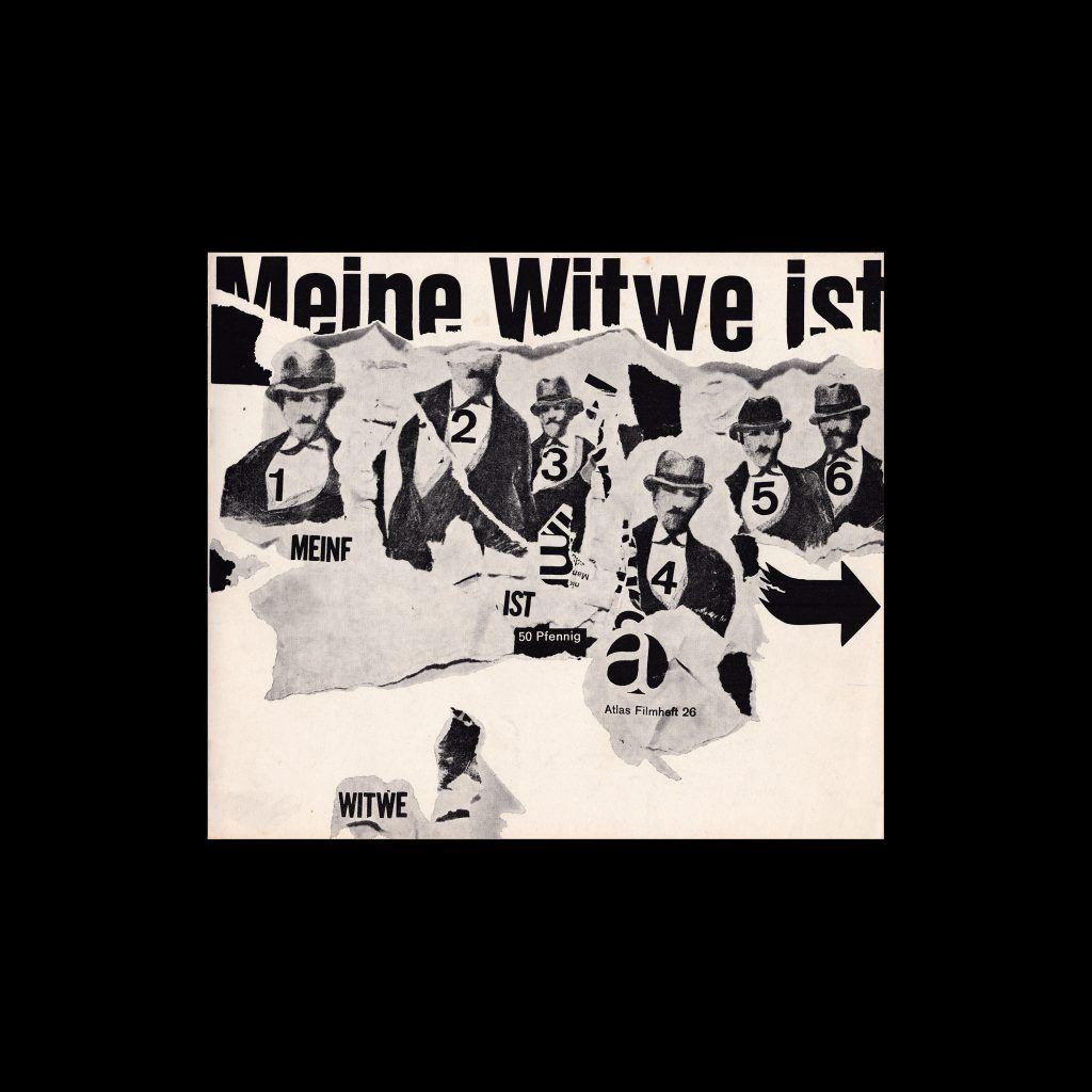 Atlas Filmheft 26 - Meine Witwe ist gefährlich designed by Heinz Edelmann