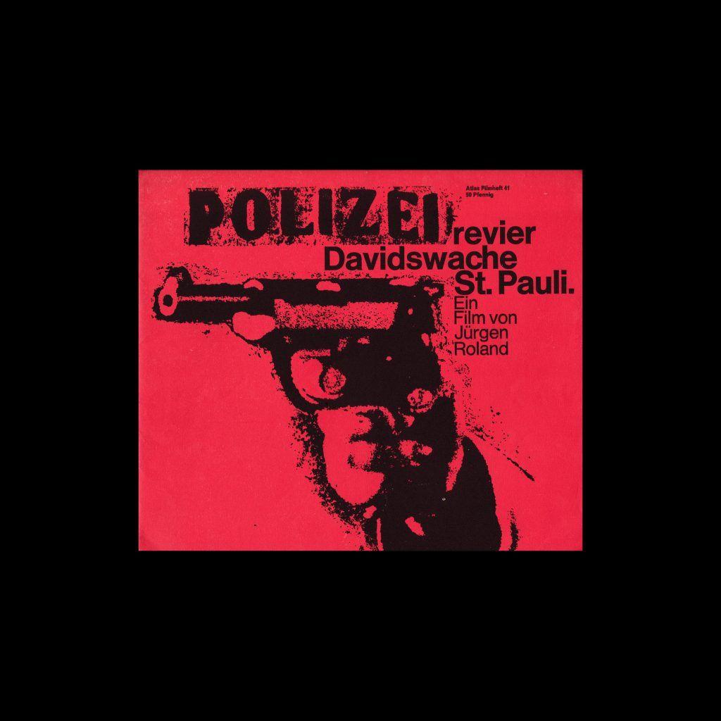 Atlas Filmheft 41 - Polizeirevier Davidswache St. Pauli designed by Hans Michel
