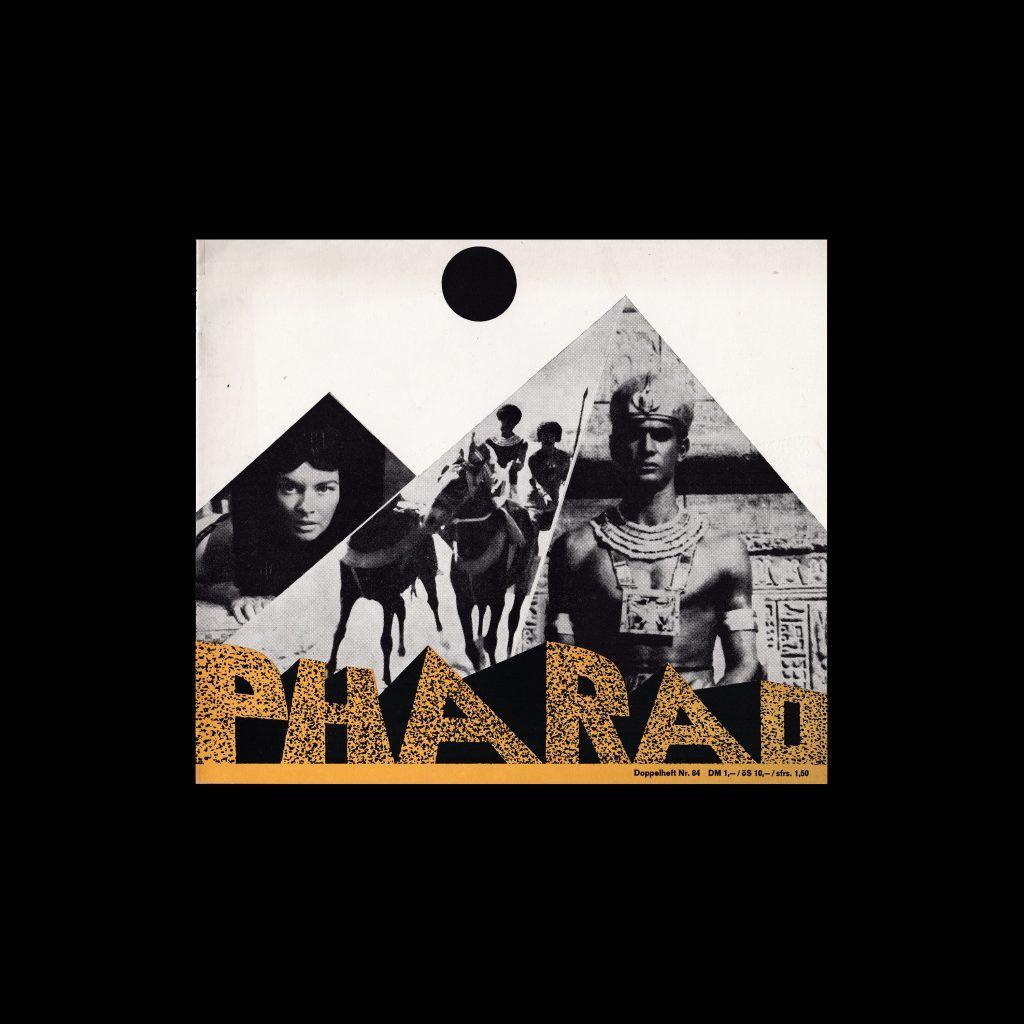 Atlas Filmheft 84 - Pharao designed by Fischer-Nosbisch