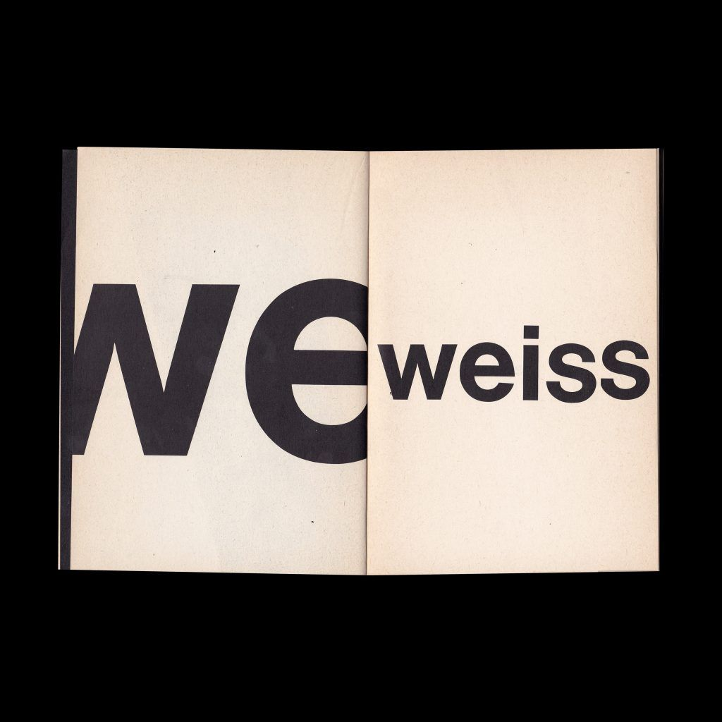 Annoncenteil Arbeiten auf/mit Papier (1967–1971) Gerz, Jochen