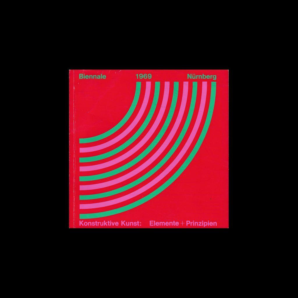 Biennale 1969 Nurnberg. Konstruktive Kunst: Elemente und Prinzipien designed by Gerhard Preiß