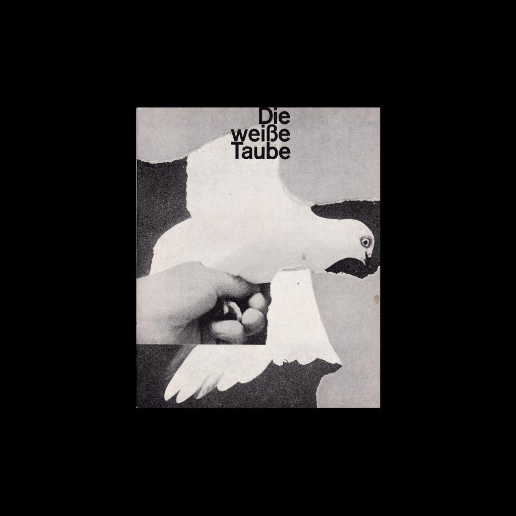 Die weiße Taube. Die Kleine Filmkunstreihe 29 designed by Lothar Städler