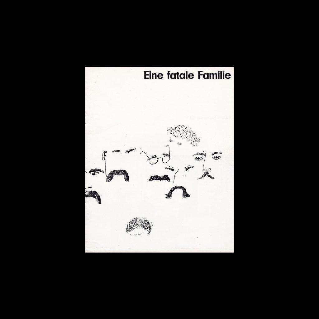 Eine fatale Familie. Die Kleine Filmkunstreihe 10 designed by Roger Piatiel