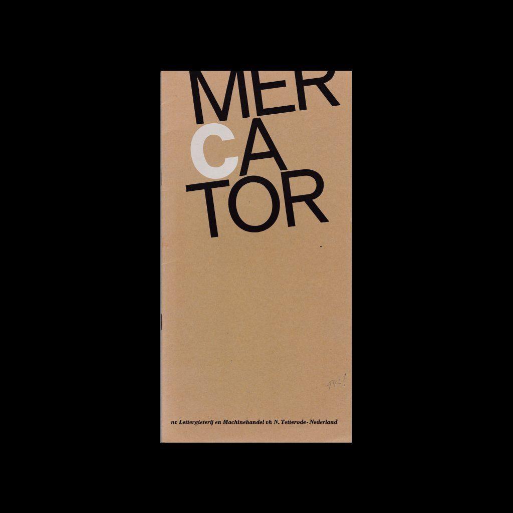 Mercator Type Specimen, Amsterdam Type Foundry