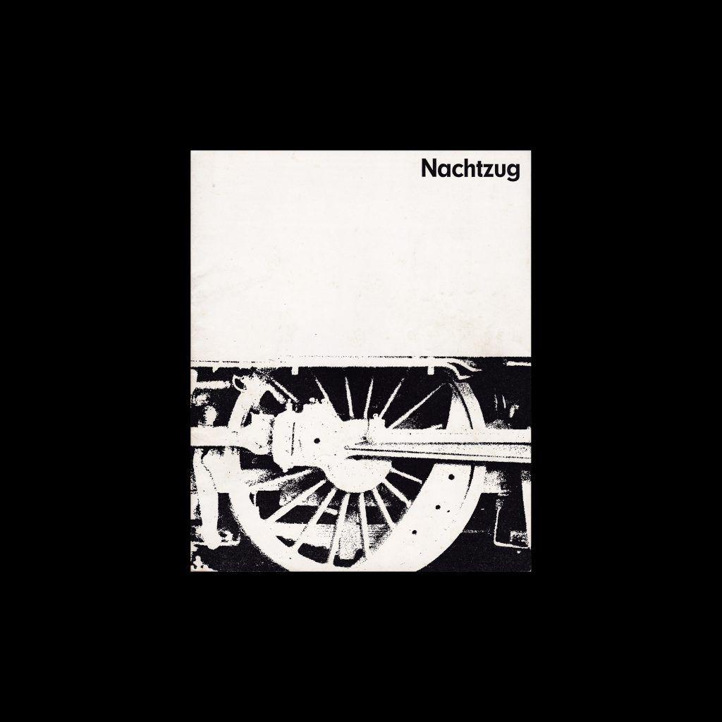 Nachtzug. Die Kleine Filmkunstreihe 24 designed by Hans Hillmann