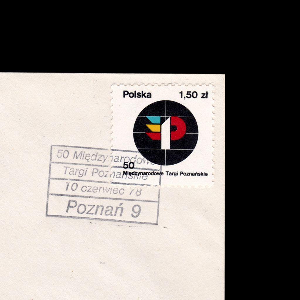 50 Międzynarodowe Targi Poznańskiet, Poland FDC, 1978