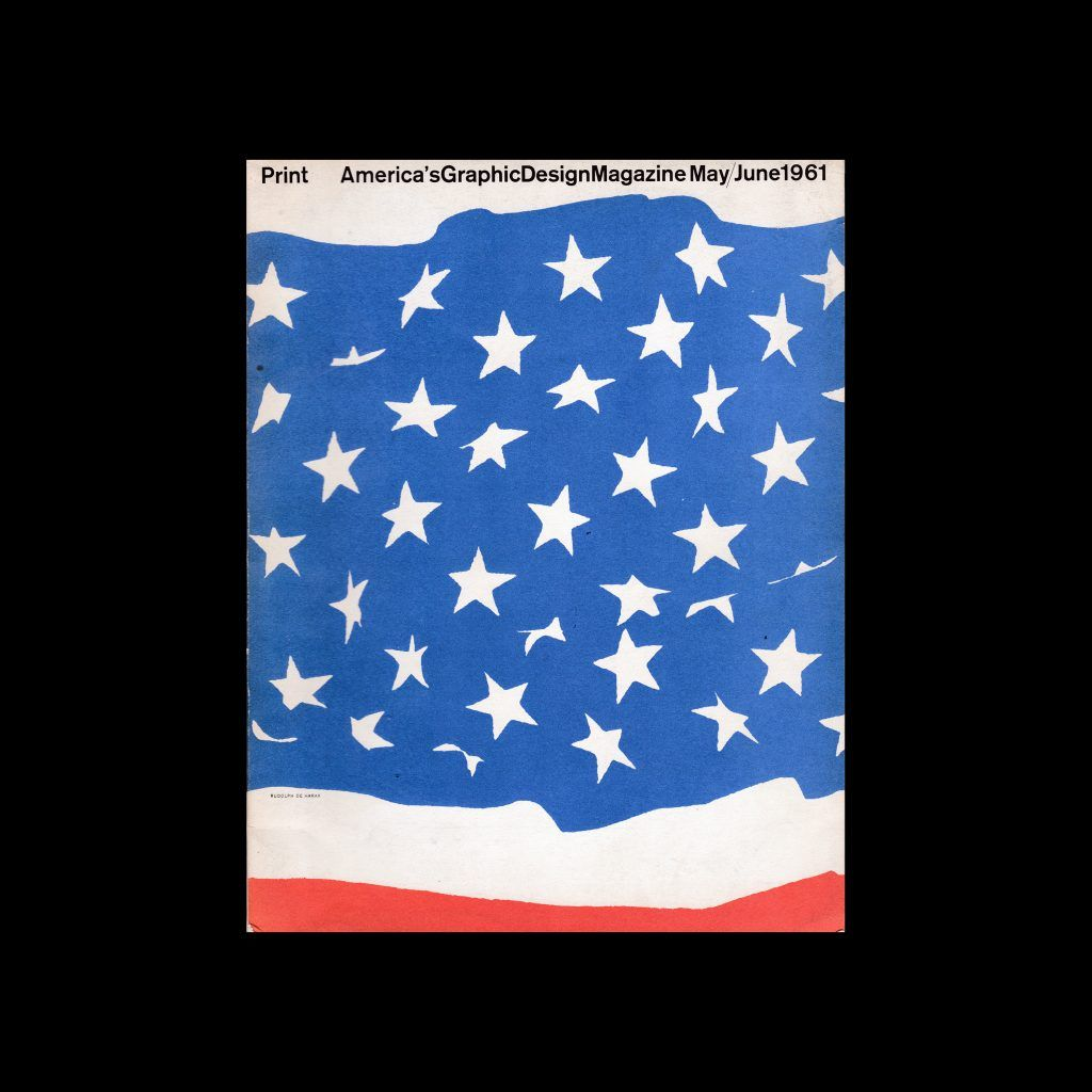 Print: America's Graphic Design Magazine - May/June 1961 designed by Rudolph de Harak