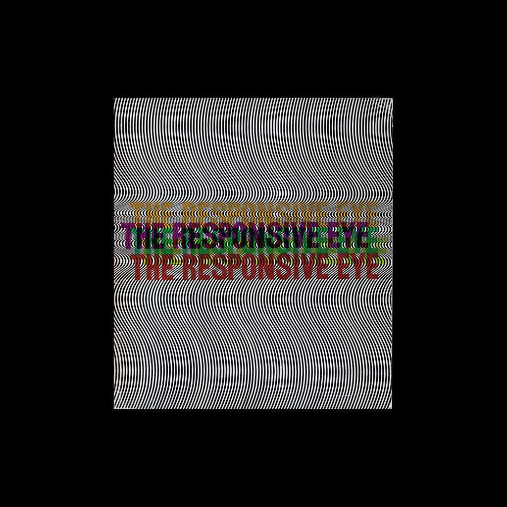 The Responsive Eye, 1965 Museum of Modern Art designed by Joseph Bourke Del Valle