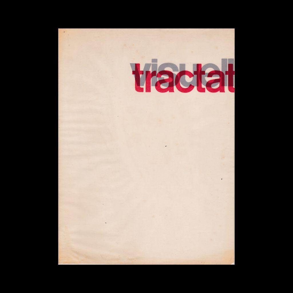 visuell tractat, 1962 designed by Herbert W. Kapitzki