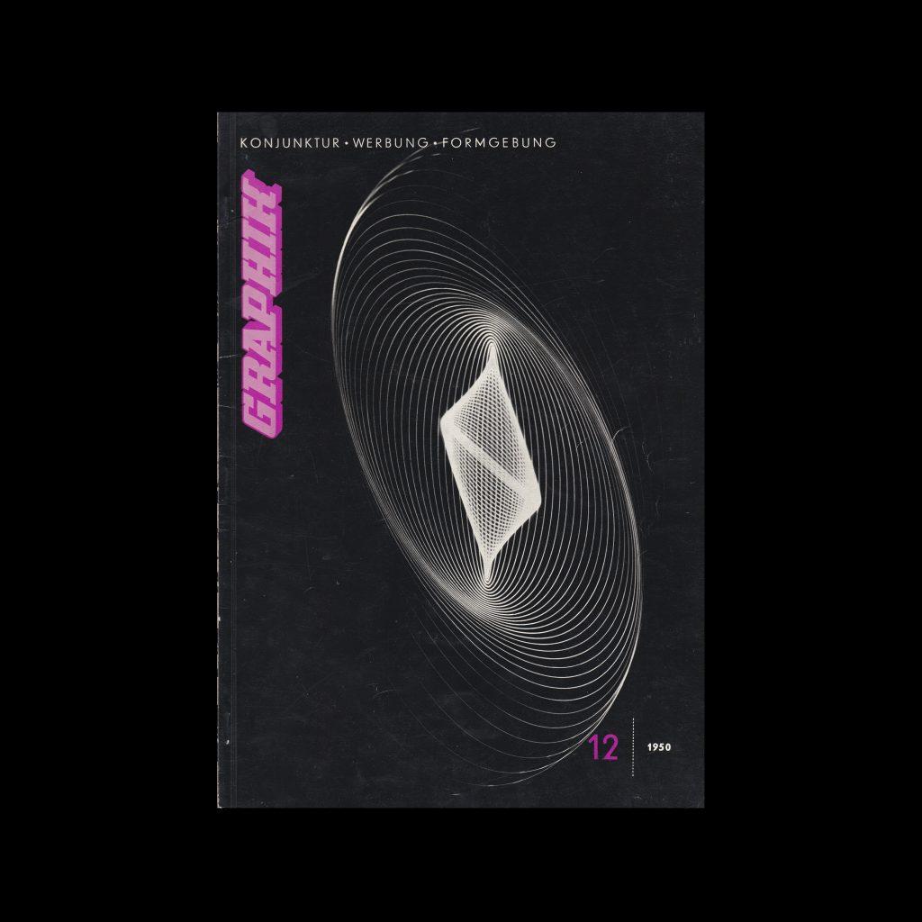 Graphik - Werbung + Formgebung, 12, 1950
