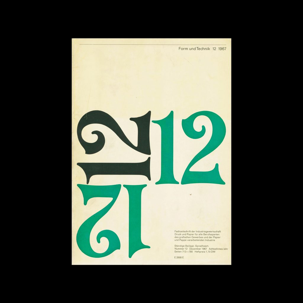 Form und Technik, 12, 1967