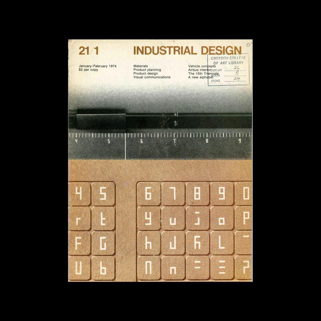 Industrial Design, January-February, 1974