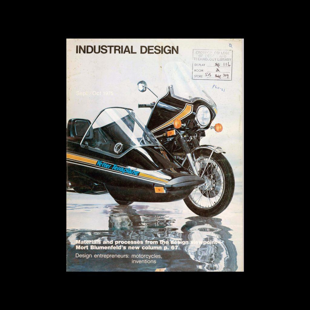 Industrial Design, September-October, 1975