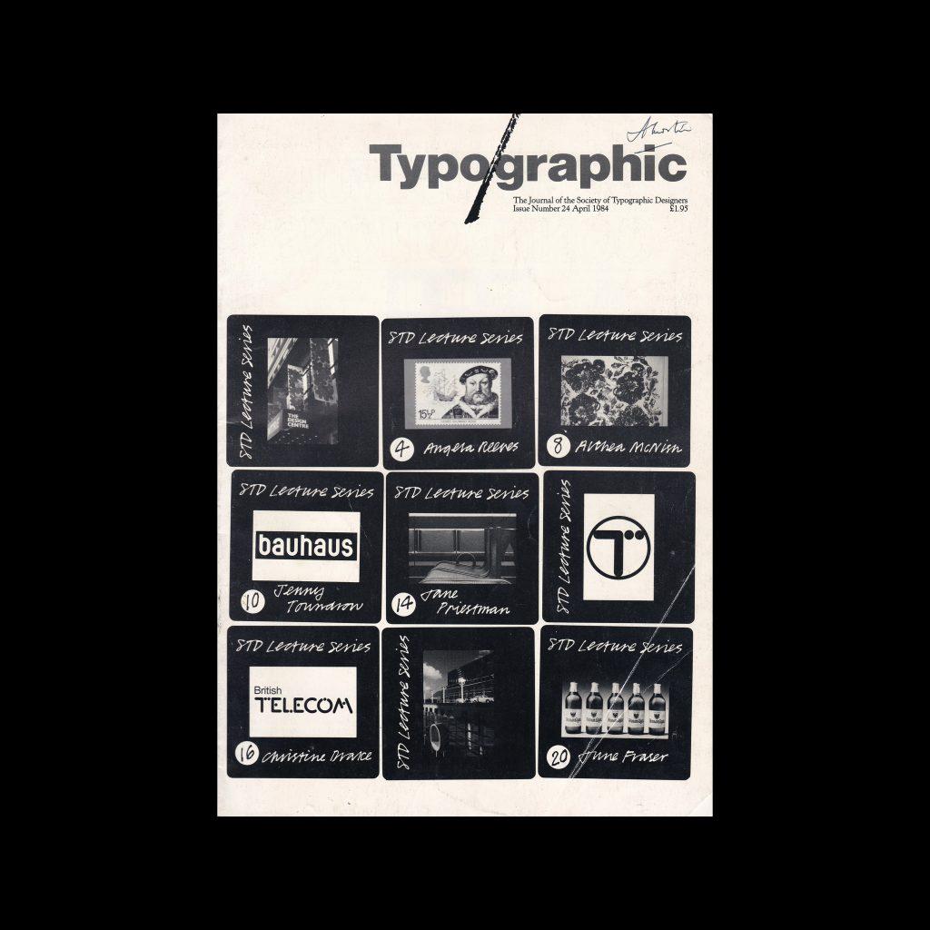 Typographic, 24, April 1984
