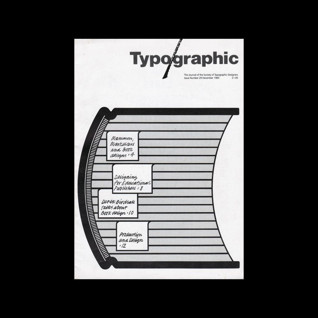 Typographic, 29, December 1985