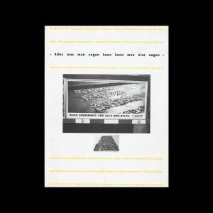 Typografische Monatsblätter, 5, 1991