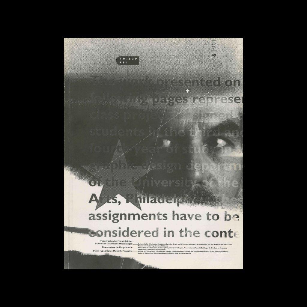 Typografische Monatsblätter, 6, 1991