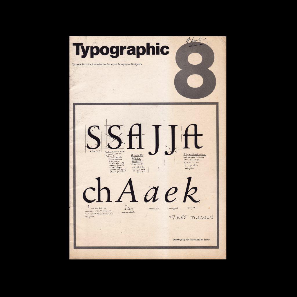 Typographic, 8