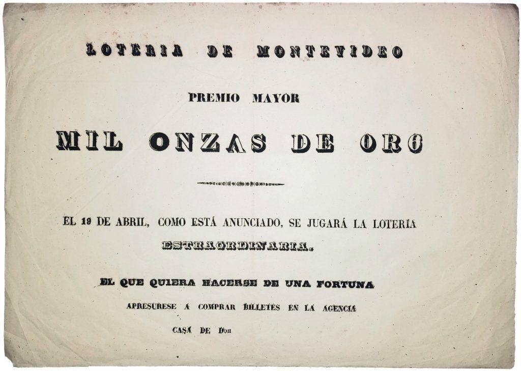 1_3. Mil Onzas de Or6 · Circa 1890