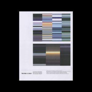 Typografische Monatsblätter, 4, 2001