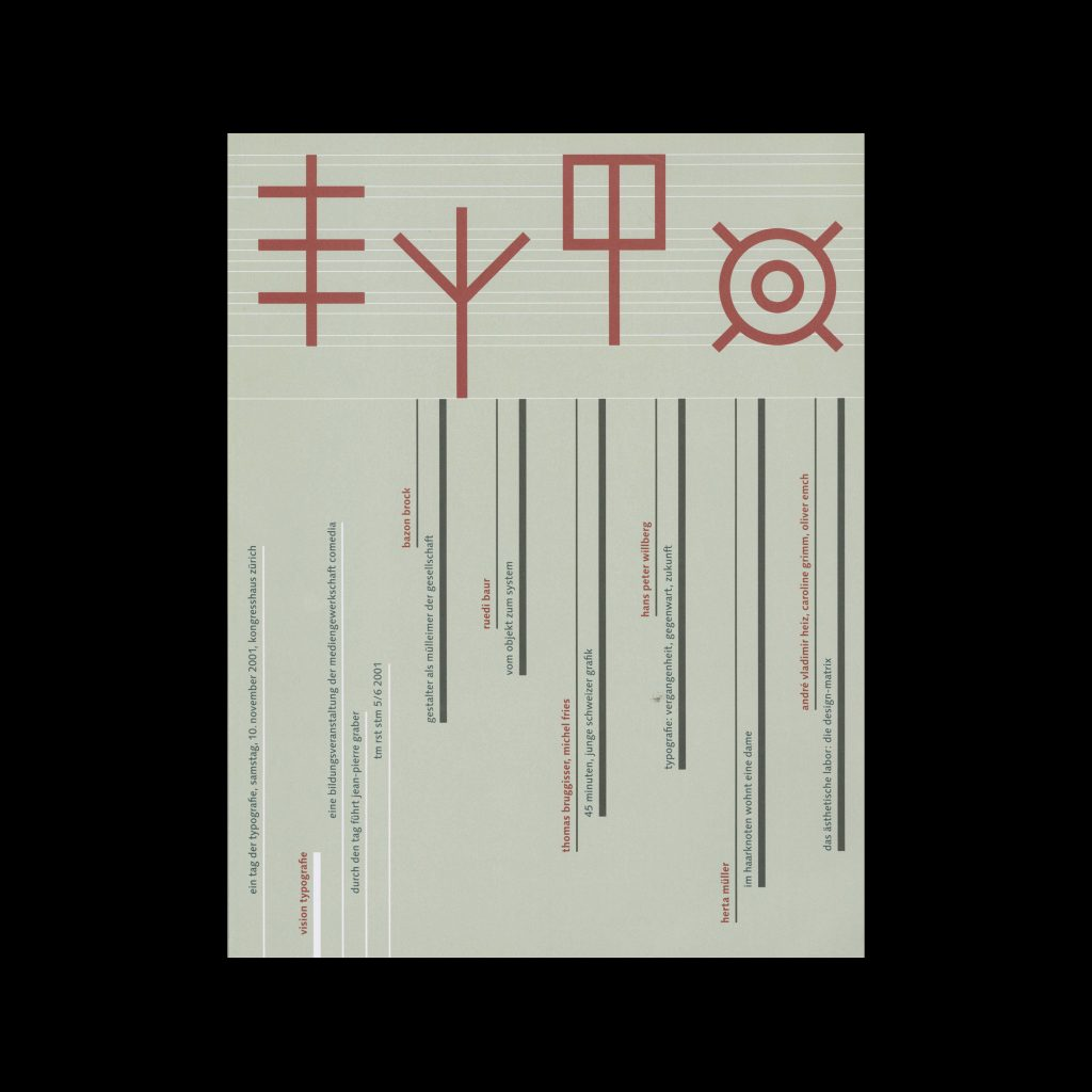 Typografische Monatsblätter, 5-6, 2001