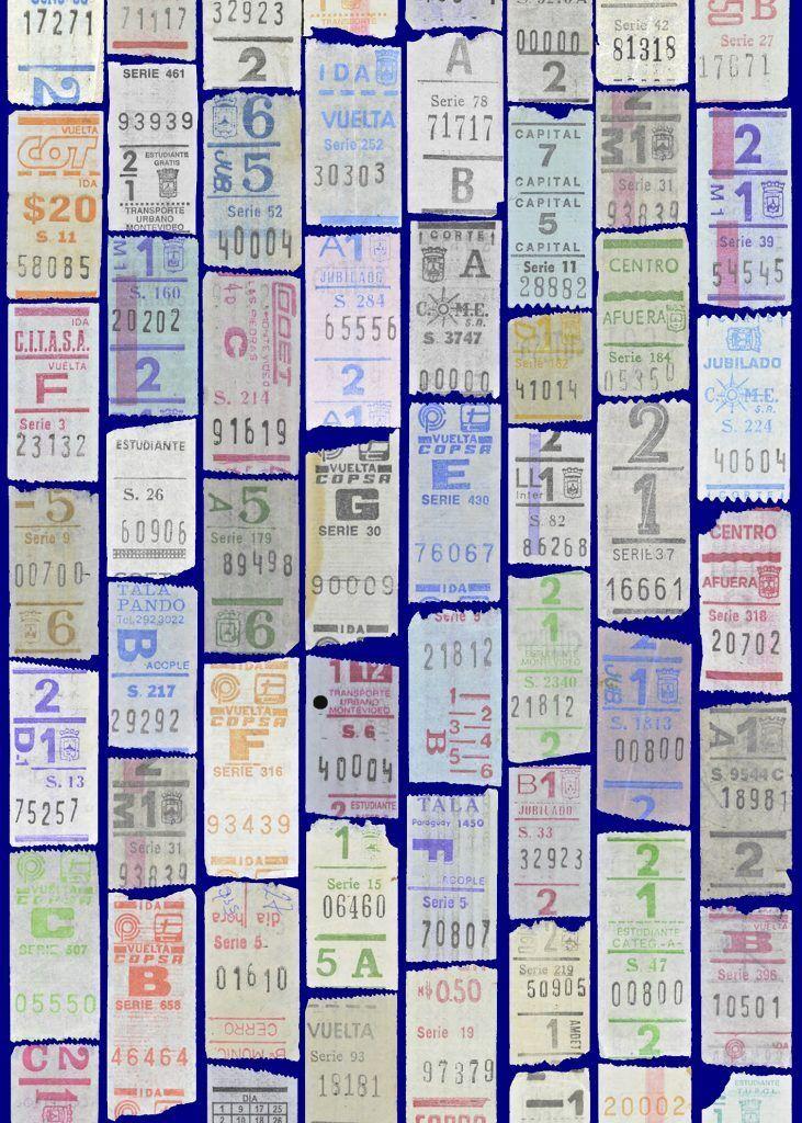 Ephemera · Palindrome-Bus-Tickets · Circa 1990