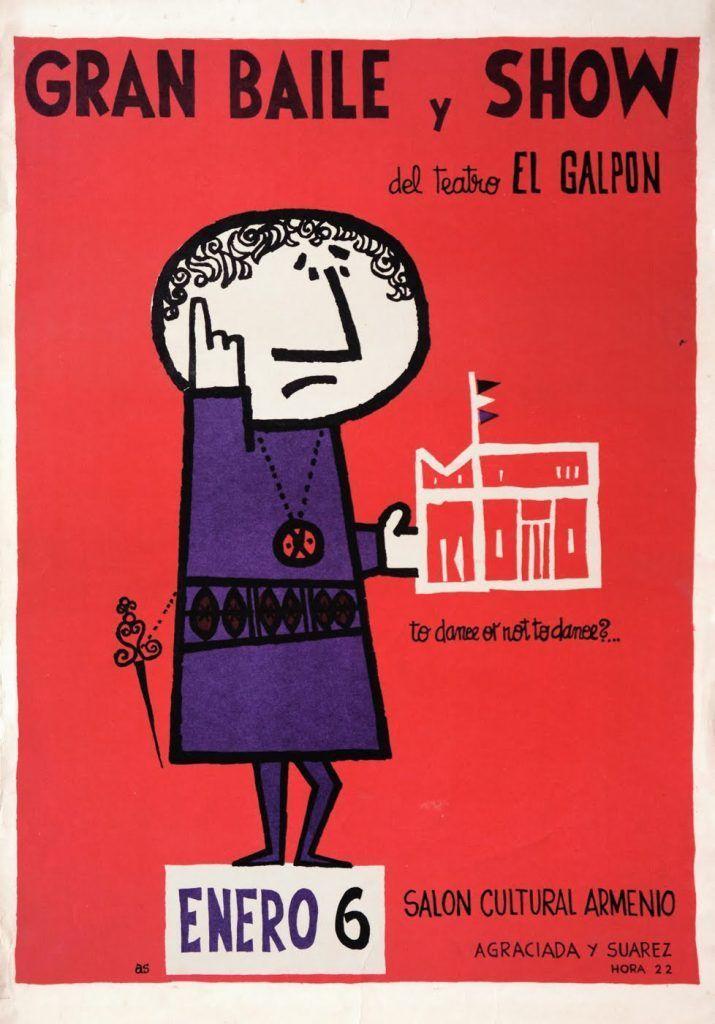 Gran Baile y Show · Dance · Imprenta AS · Circa 1960
