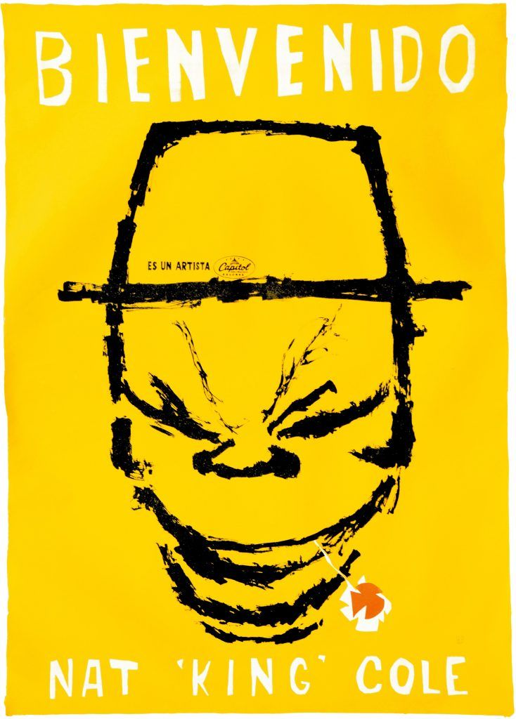 "Nat ""King"" Cole · Jazz · Imprenta AS · Circa 1960"