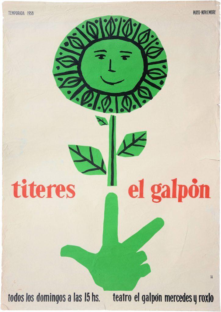 Títeres en El Galpón · Puppetry · Imprenta AS · 1958