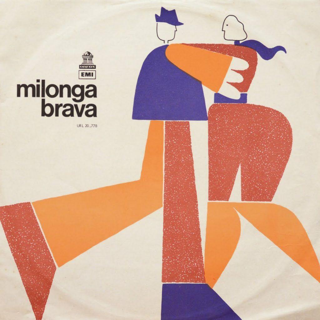 Record Cover · Milonga Brava · Fernando Álvarez Cozzi · 1971