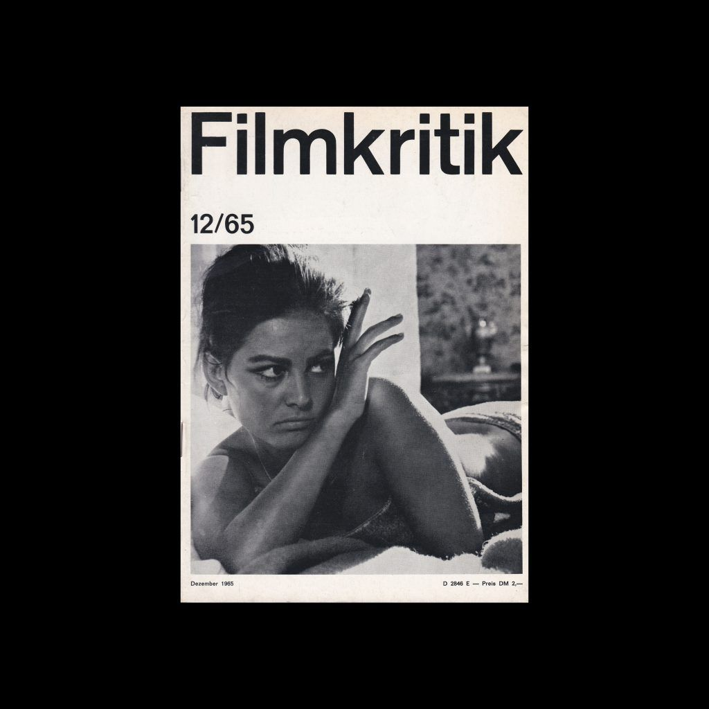 Filmkritik, December 1965