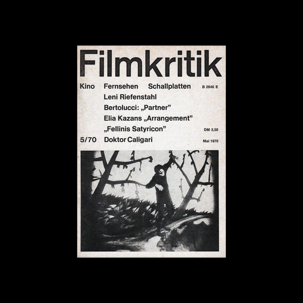 Filmkritik, May 1970