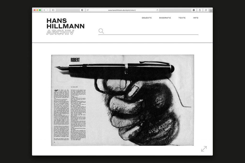 Online Archive - Hans Hillmann