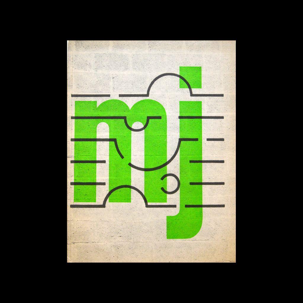 Museumjournaal, Serie 11 no 5, 1966. Designed by Jurriaan Schrofer