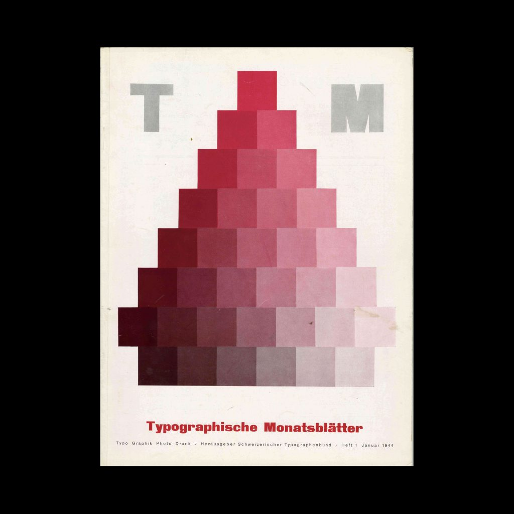 Typografische Monatsblätter, 1, 1944