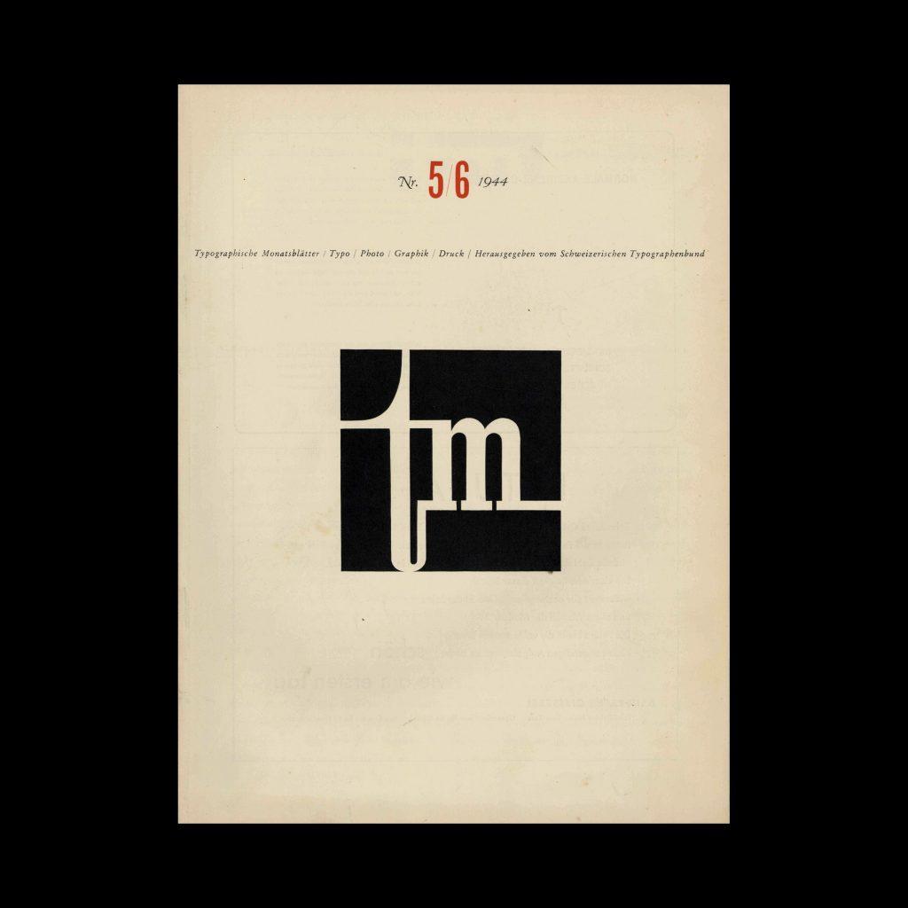 Typografische Monatsblätter, 5-6, 1944