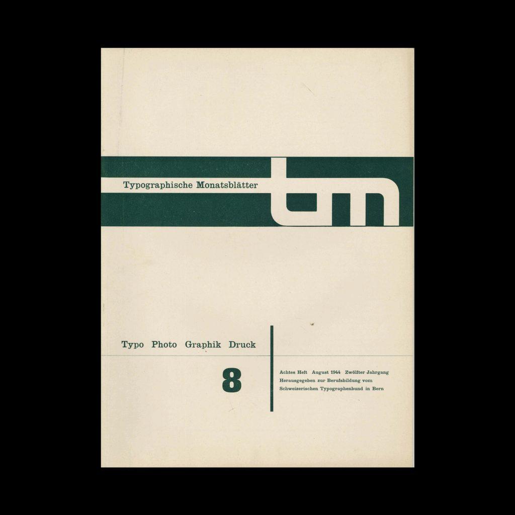 Typografische Monatsblätter, 8, 1944
