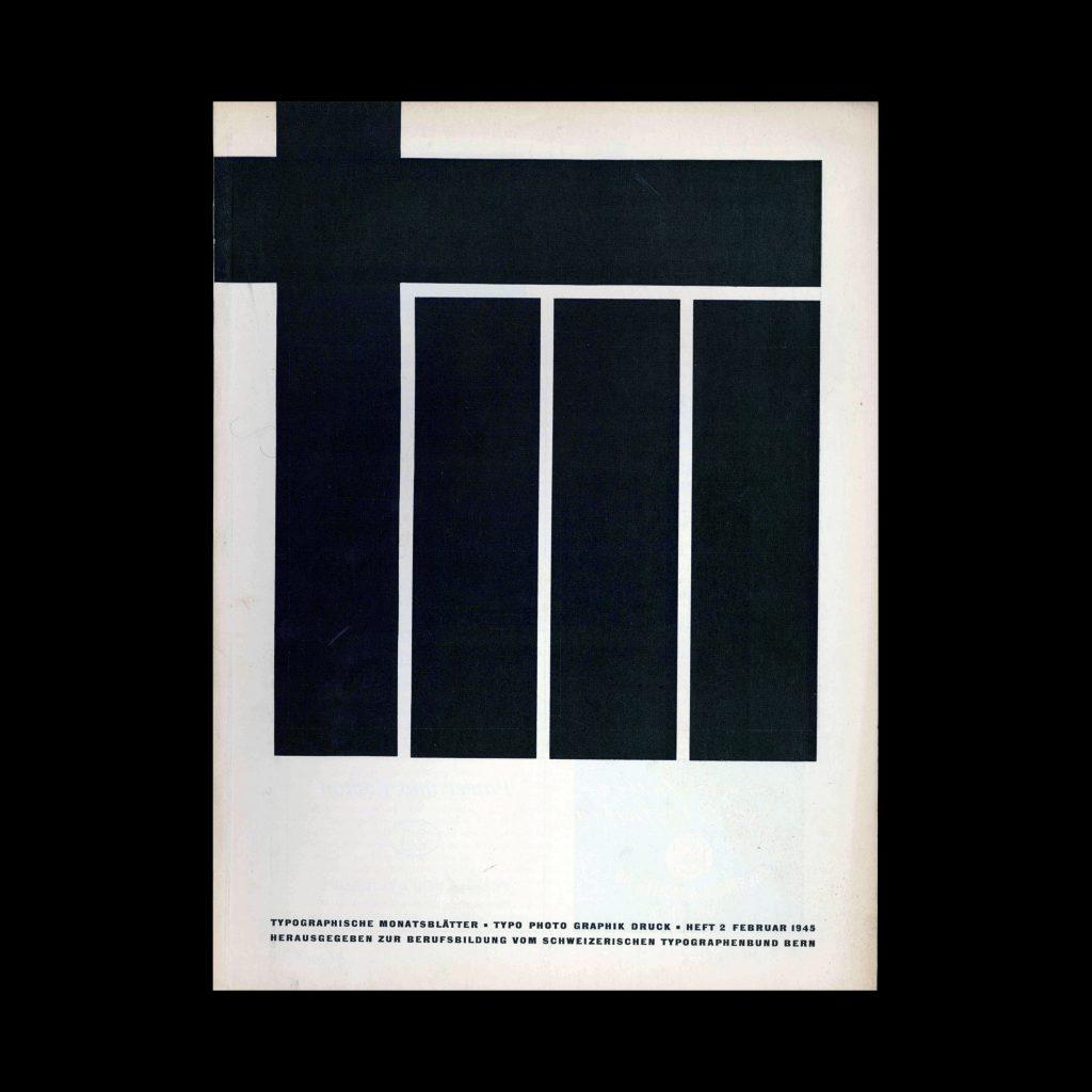 Typografische Monatsblätter, 2, 1945
