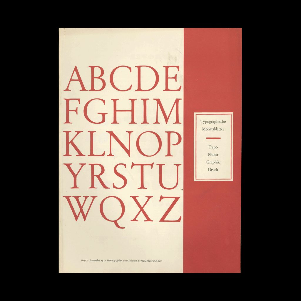 Typografische Monatsblätter, 9, 1947
