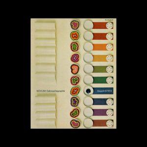 Novum Gebrauchsgraphik, 8, 1973. Cover design by Frank Eidlitz