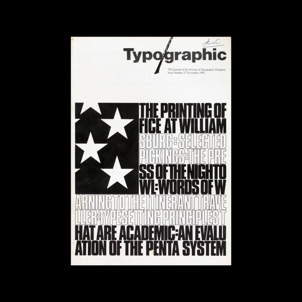 Typographic, 17, December 1981